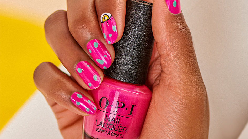 OPI Nail Art Get the Look: Inner Ojo