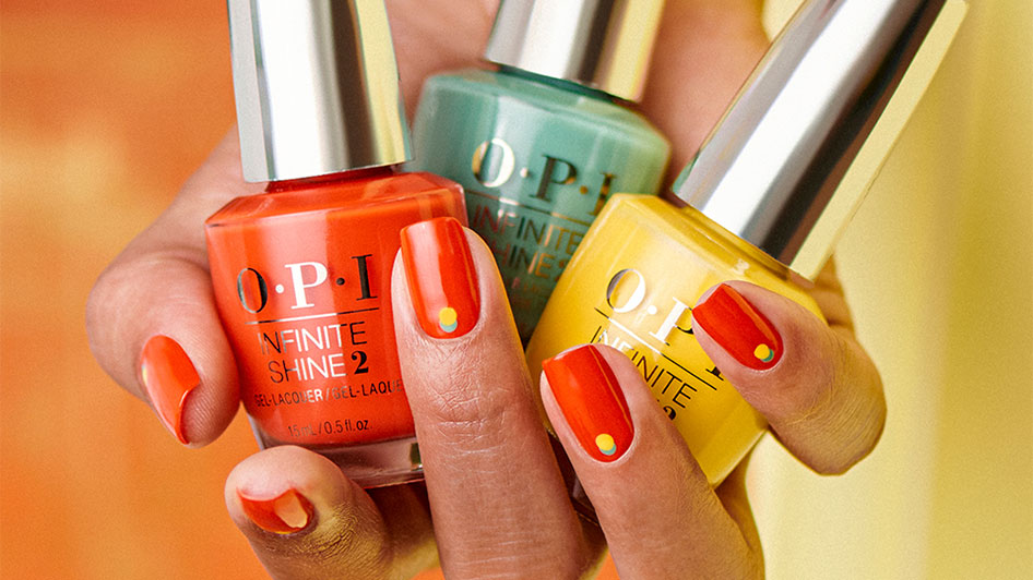 OPI Nail Art Get the Look: On the Dot