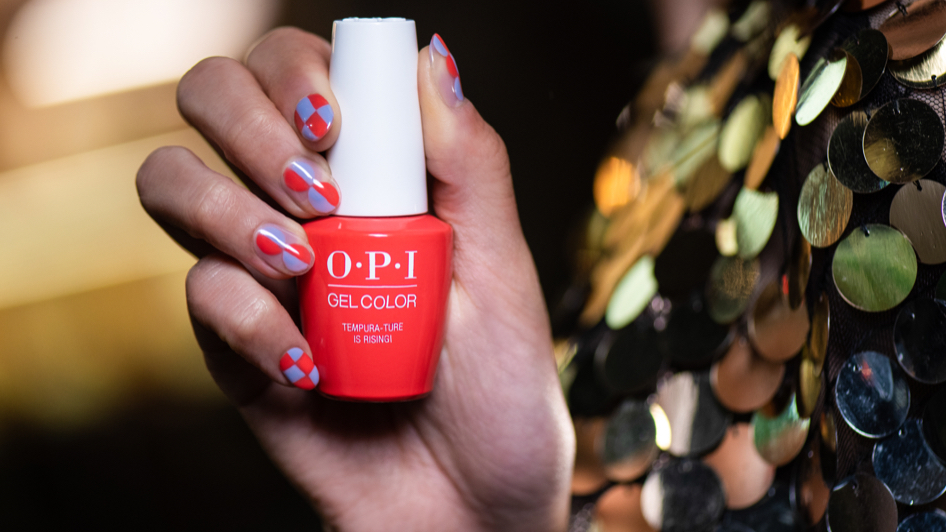 OPI Red Nail Art