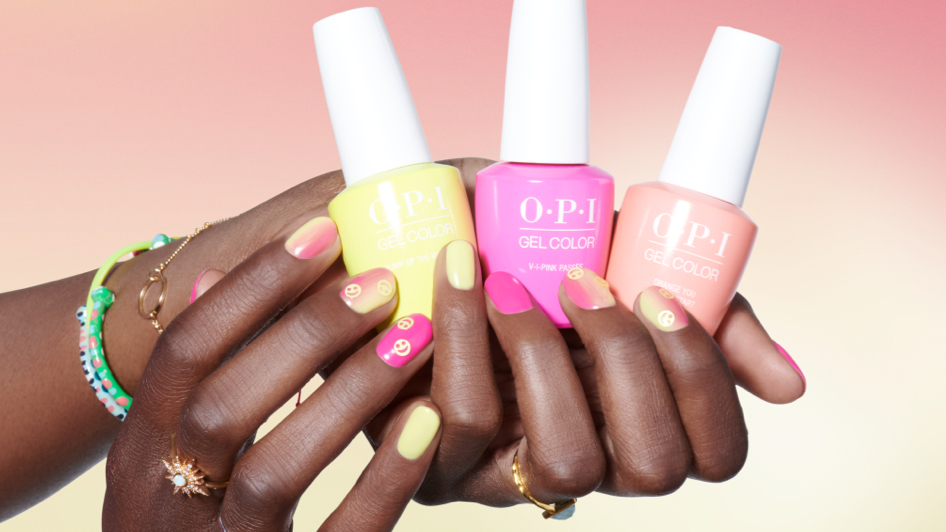 OPI Gel Nail Art Sunset at the Main Stage