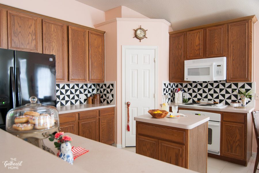 All Pink Kitchen it all started with pink: finding the perfect color for a classic