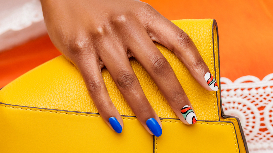 OPI Spring 2020: Mexico City Spring El Raul Nail Art Step by Step