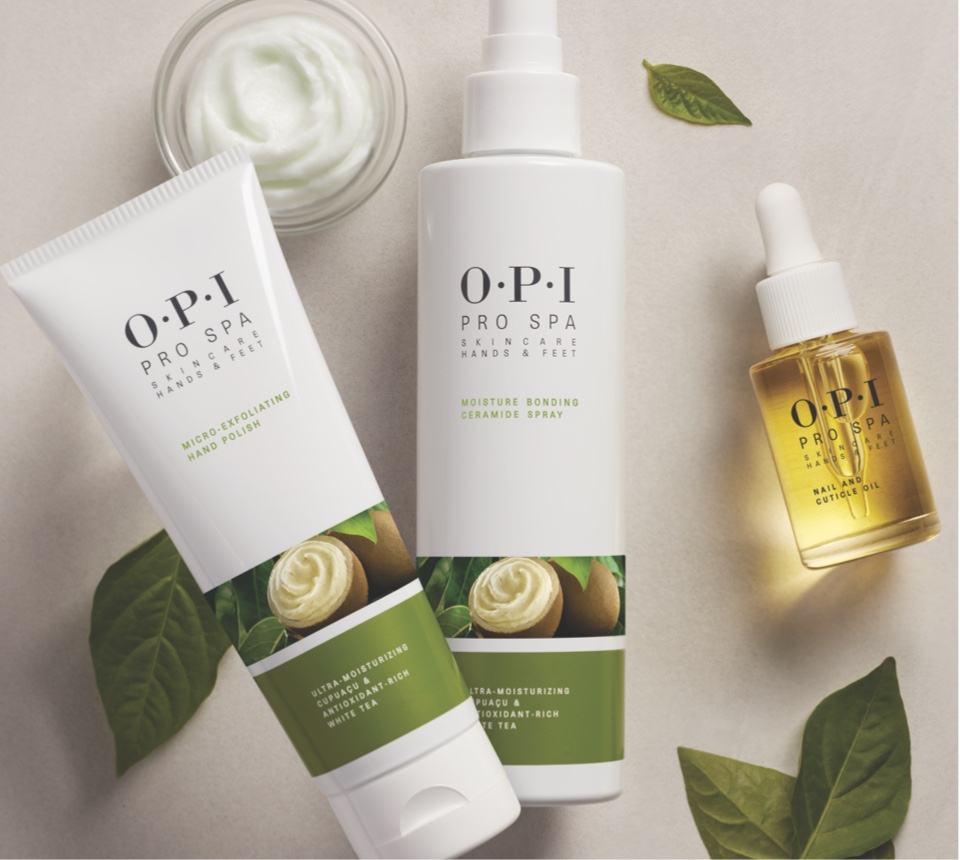 ProSpa Hands and Feet Skincare products by OPI