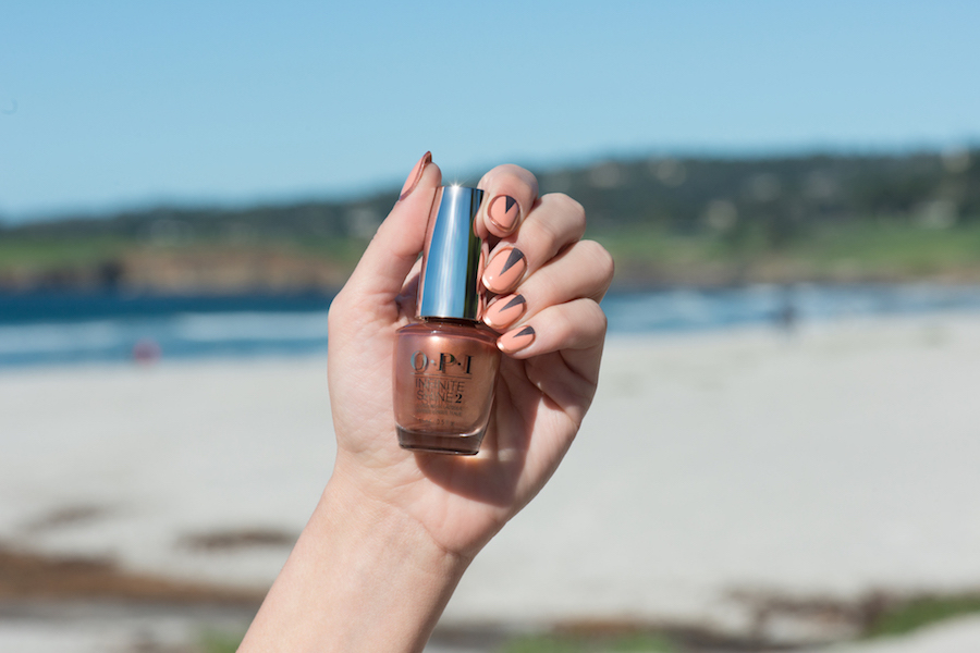 OPI, Blog, California Dreaming, Nail Art, Designscape, Tutorial, Set in the West, Infinite Shine