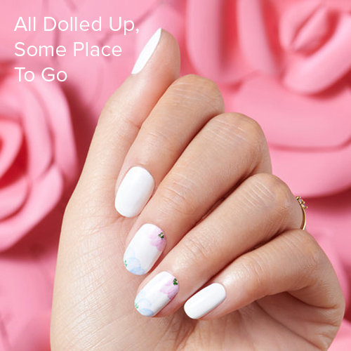 OPI Nail Art: All Dolled Up, Some Place To Go