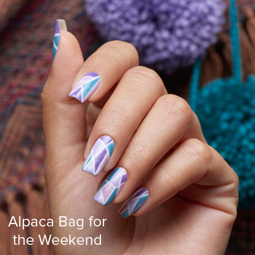 OPI Nail Art: Alpaca Bag for the Weekend