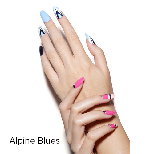 OPI Nail Art: Alpine Blues