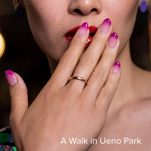 OPI Nail Art: A Walk in Ueno Park