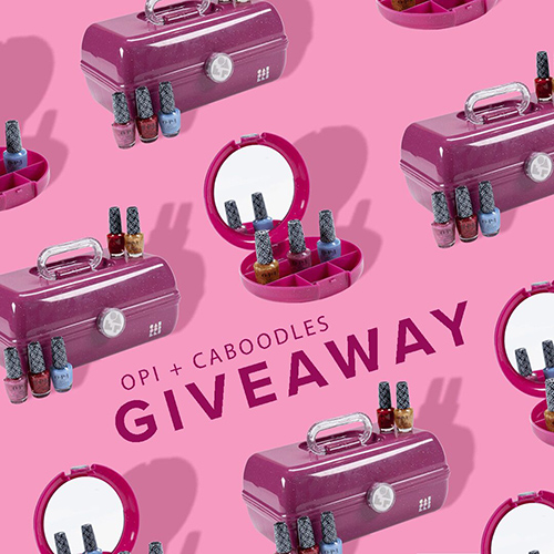 OPI + Caboodles Giveaway