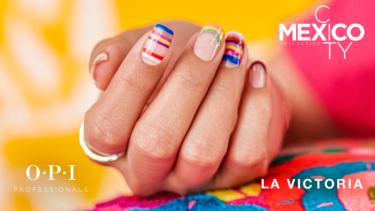 OPI Mexico City DIY Nail Art La Victoria
