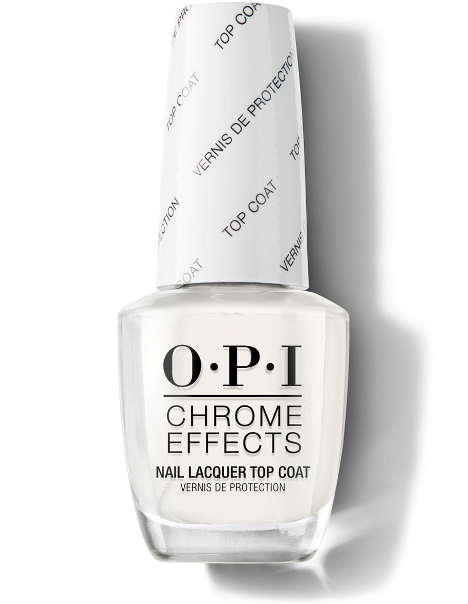 Chrome Effects Nail Lacquer Top Coat Opi