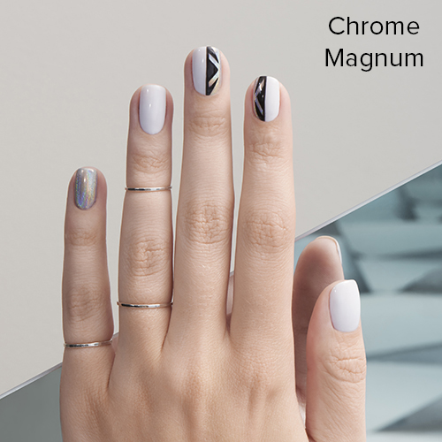 OPI Nail Art: Chrome Magnum