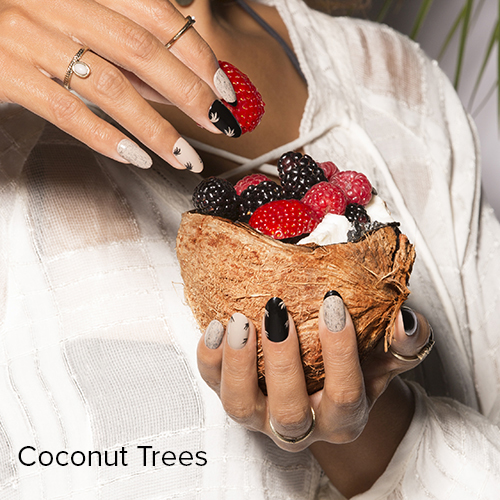 OPI Nail Art: Coconut Trees