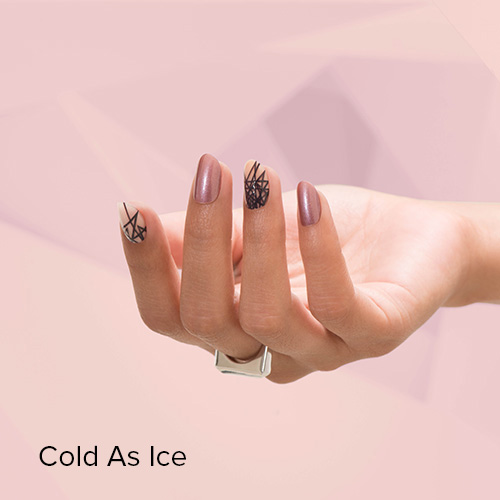 OPI Nail Art: Cold as Ice