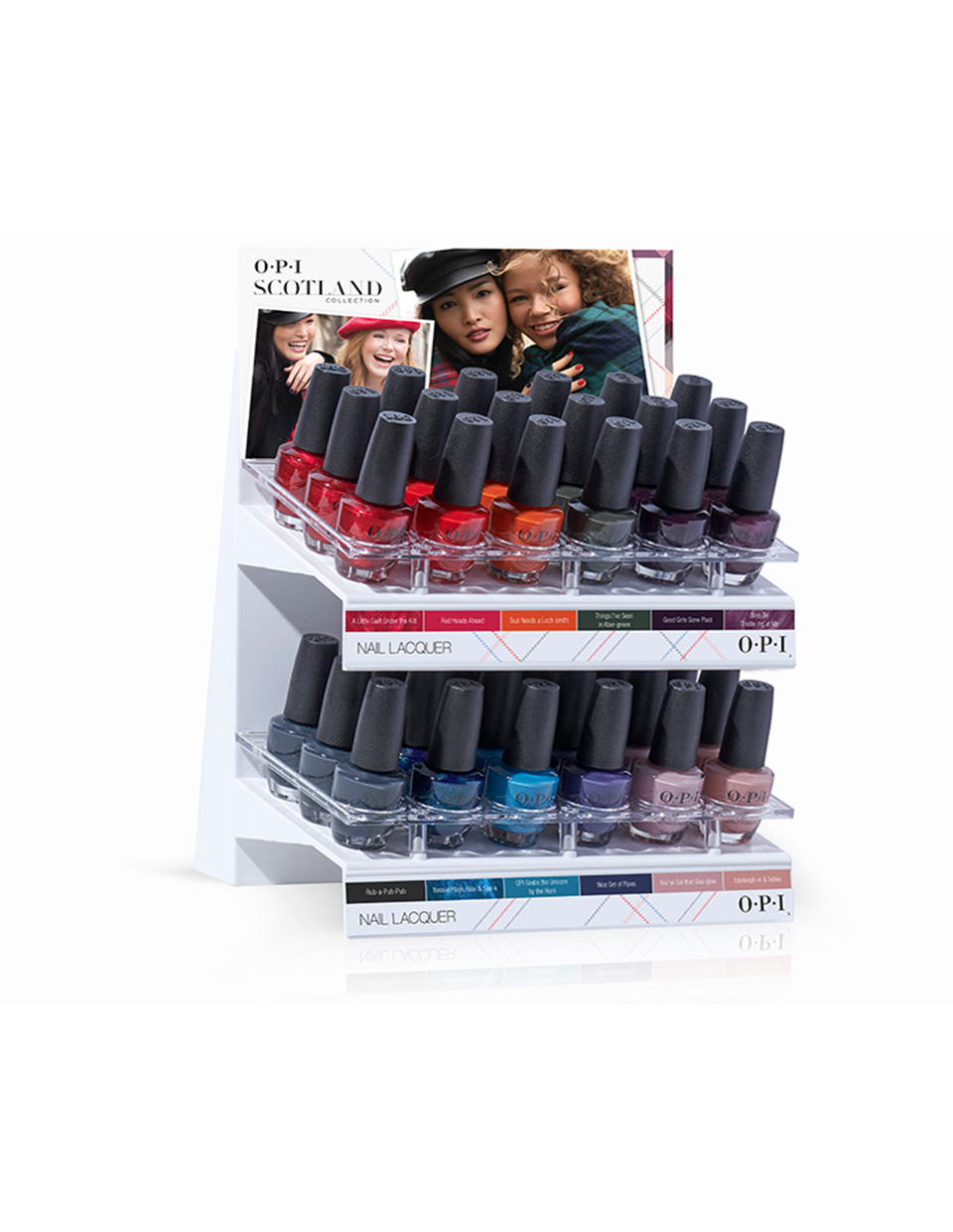 "Fall '19 Nail Lacquer ""C"" 36Pc Display"