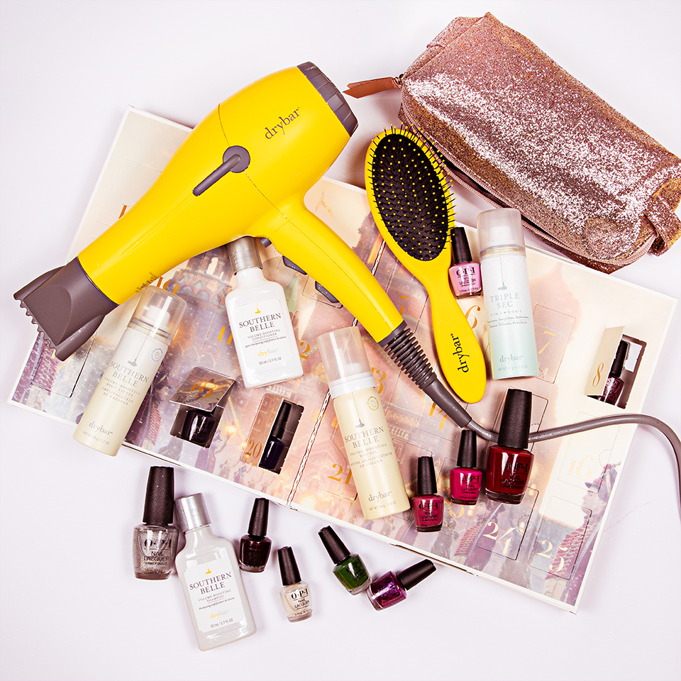 DryBar Holiday Hair Giveaway with OPI