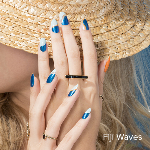 OPI Nail Art: Fiji Waves