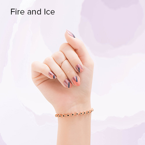 OPI Nail Art: Fire and Ice