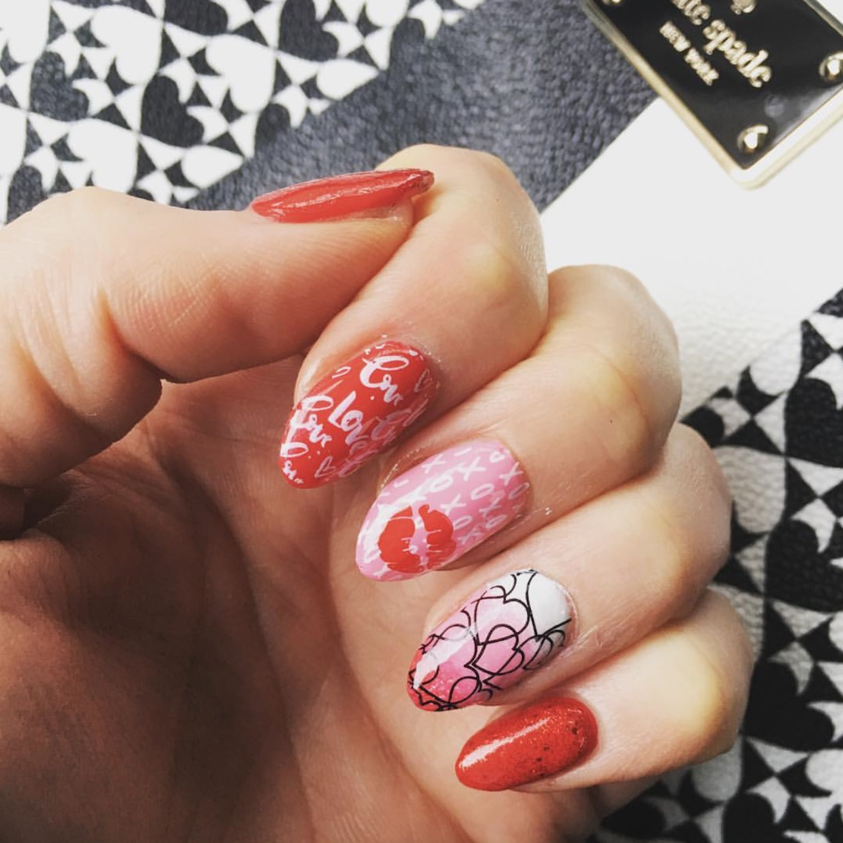 Valentine's Day Designscapes from OPI Professionals - Blog | OPI