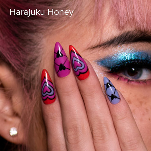OPI Nail Art: Harajuku Honey