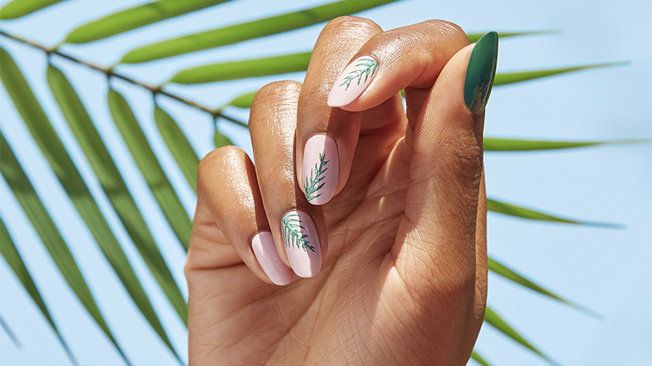 Hollywood Palms Nail Art