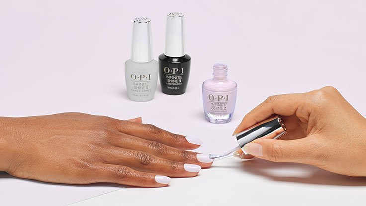 How to apply OPI Infinite Shine