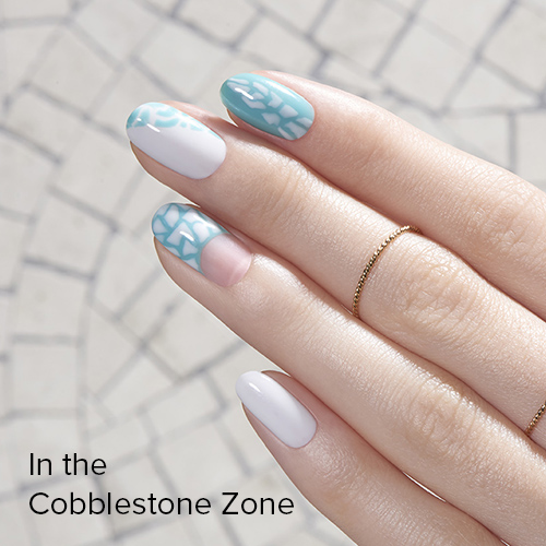 OPI Nail Art: In the Cobblestone Zone