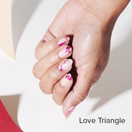 OPI Nail Art: Love Triangle
