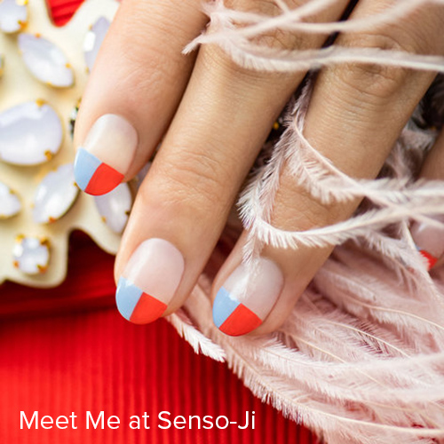 OPI Nail Art: Meet Me at Senso-Ji