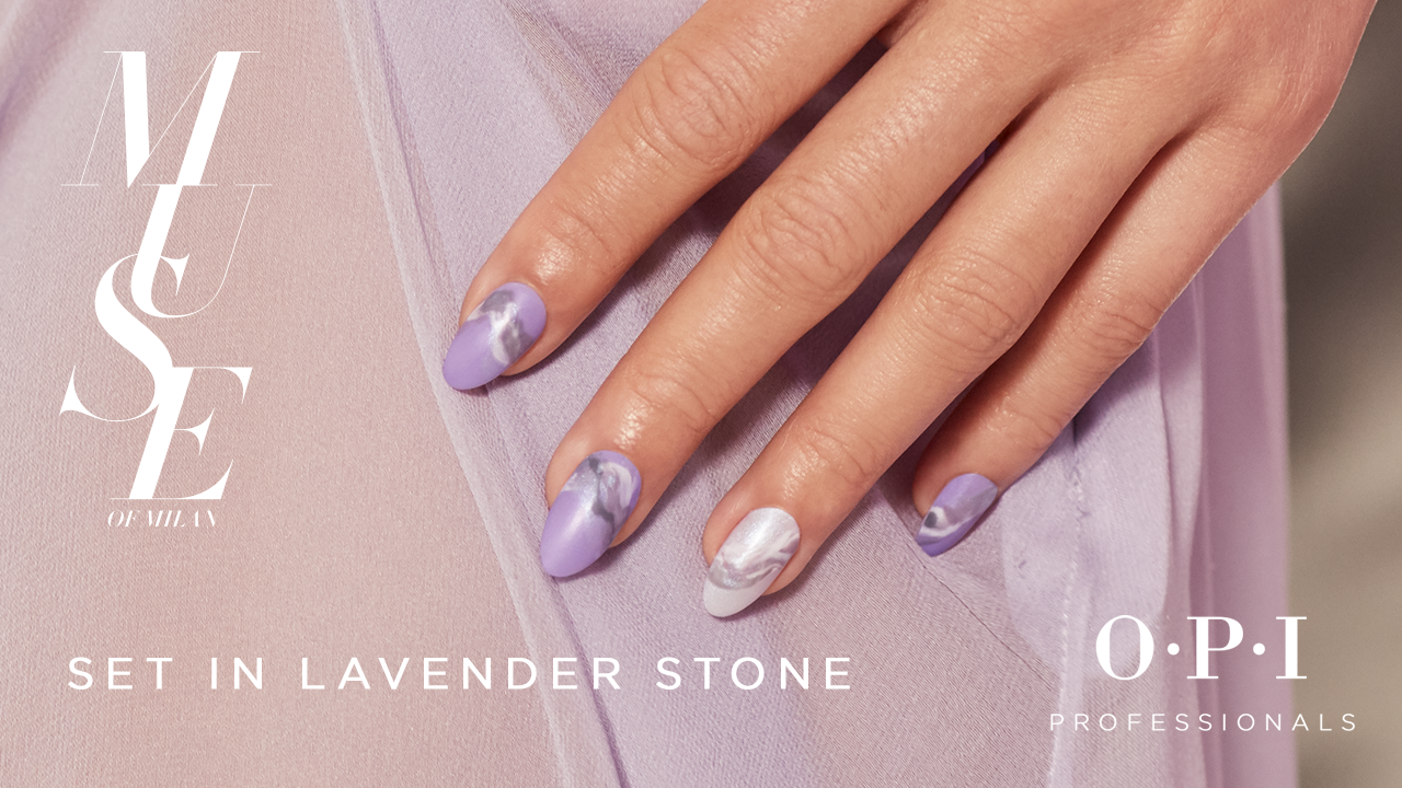 Set In Lavender Stone