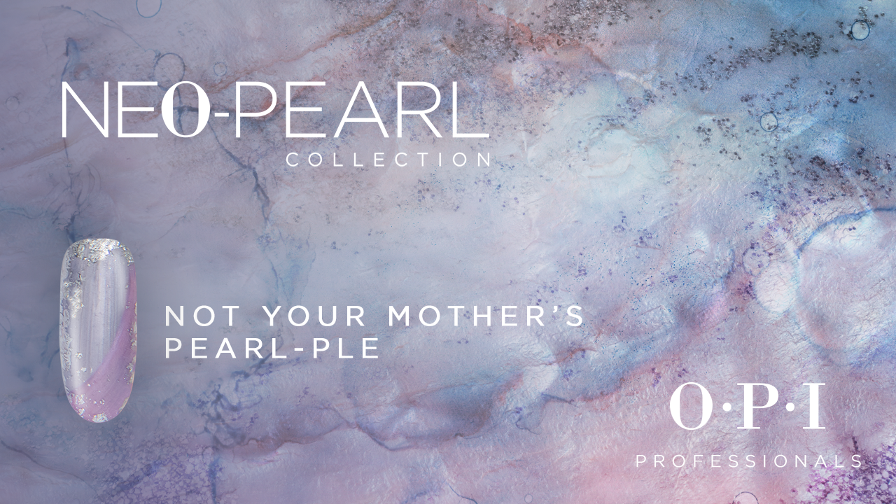 OPI Neo Pearl Nail Art: Not Your Mother's Pearl-ple