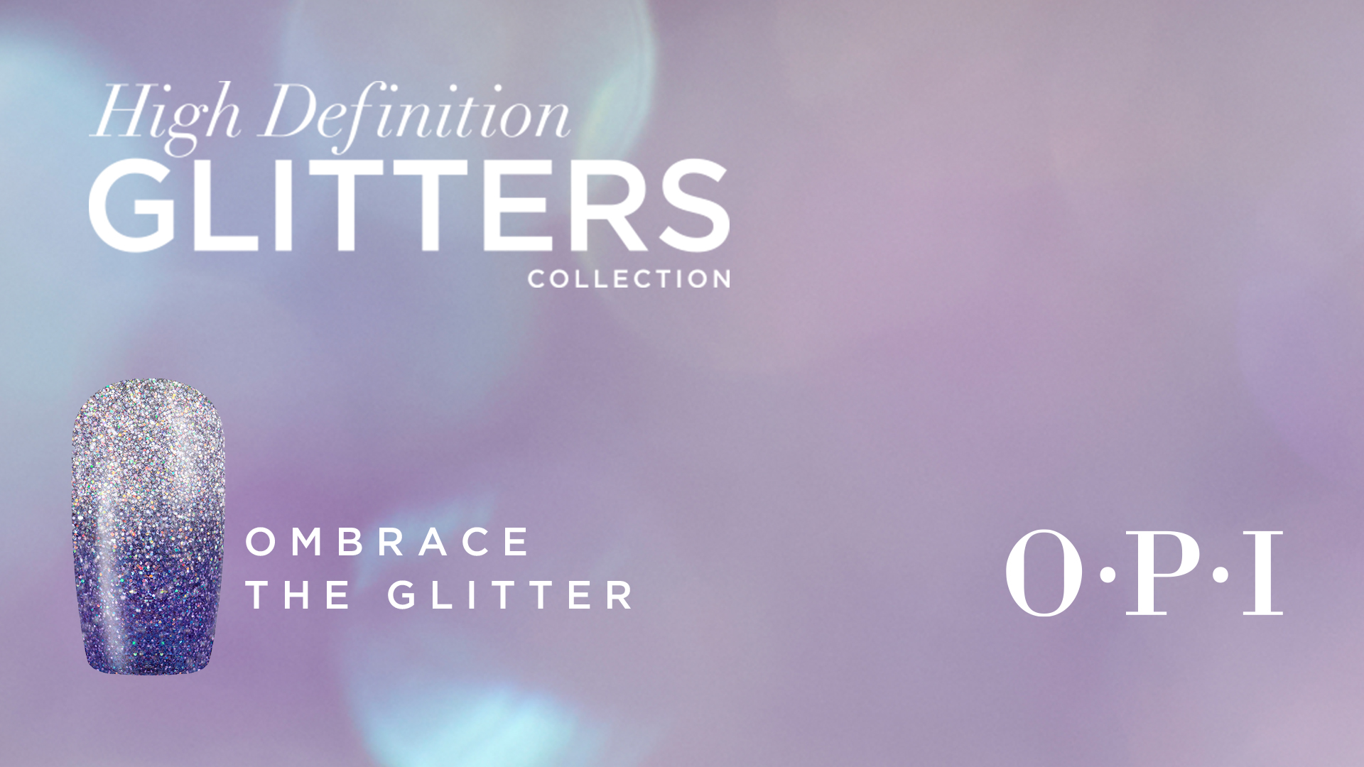 High Definition Glitters  Nail Art Ombrace the Glitters
