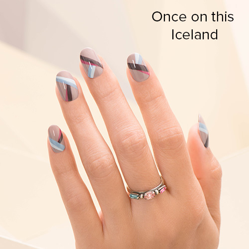 OPI Nail Art: Once on this Iceland