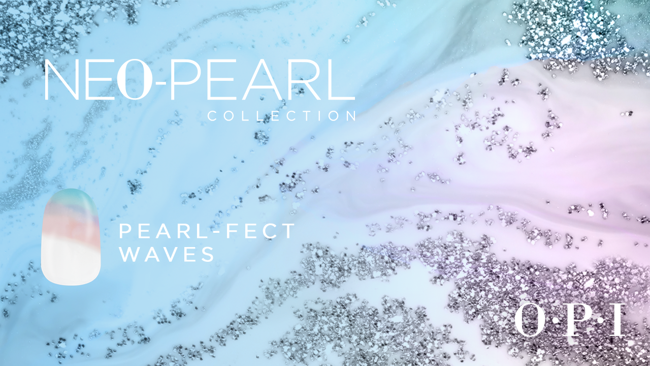 Pearl-fect Waves Neo-Pearl Collection Nail Art