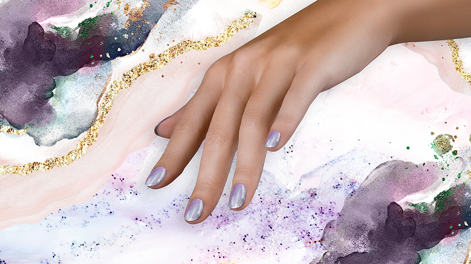 OPI Neo-Pearl Nail Art: Not Your Mother's Pearl-ple