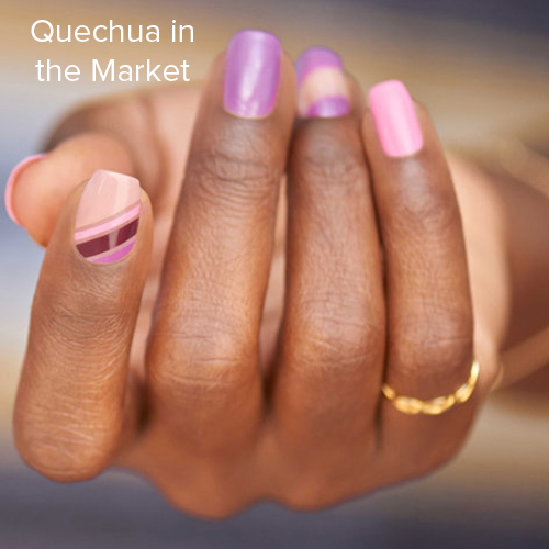 OPI Nail Art: Quechua in the Market
