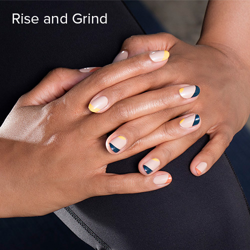 OPI Nail Art: Rise and Grind