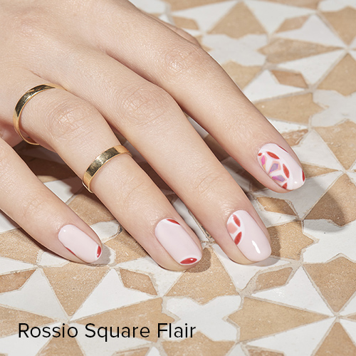 OPI Nail Art: Rossio Square Flair