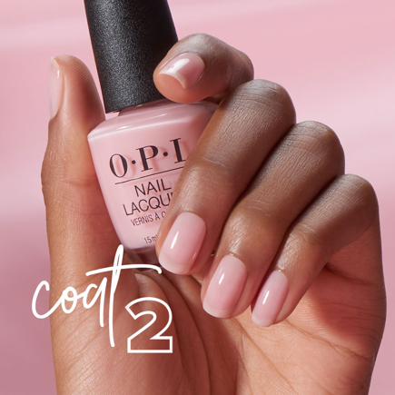 OPI Sheers Baby Take a Vow 2