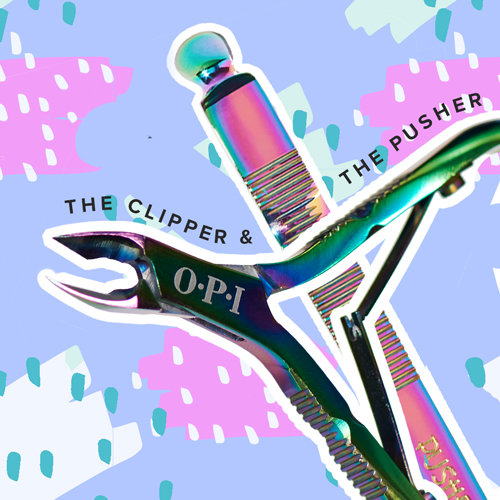 OPI Cuticle Nippers and Pushers