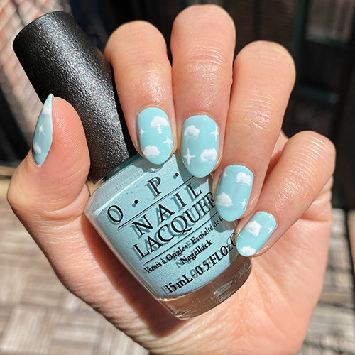 Dreamy Nail Art with OPI Shades