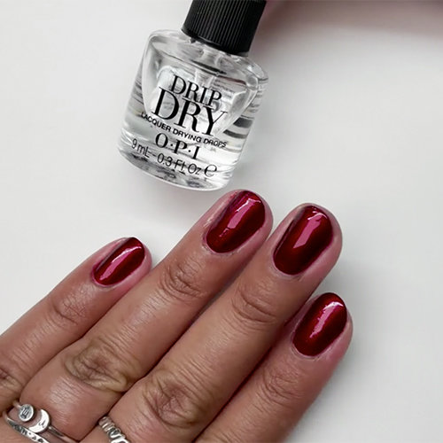 How to Use OPI Drip Dry Lacquer Drying Drops