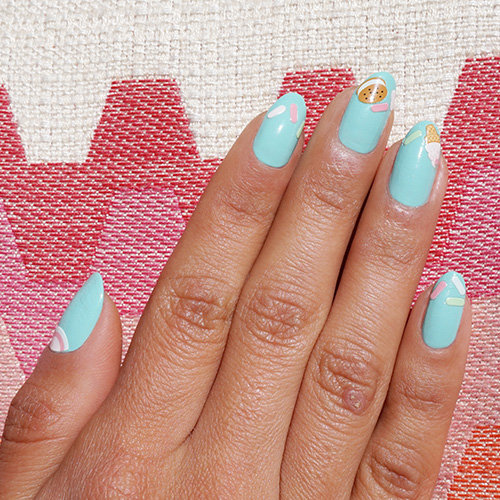 OPI x Olive and June Summer Nail Art