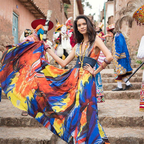 Jungles, Rainbows & New Shades: Juana Burga's Peru