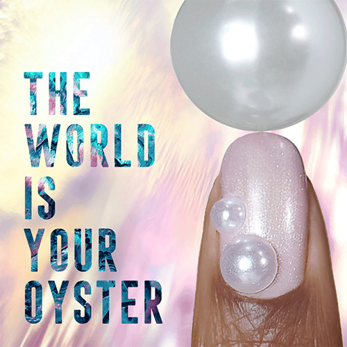 2019 Nail Art Trends: The World is your Oyster