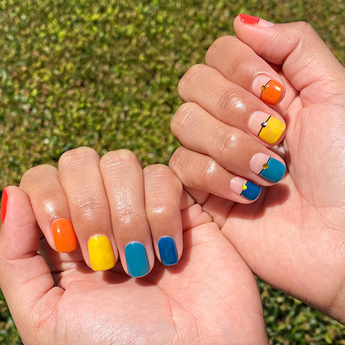 Colorful Nail Art by Letty