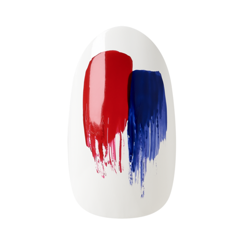 OPI, Blog, Designscape, Nail Art, Tutorial, So Nailicious, 4th of July, Maria Vlezko