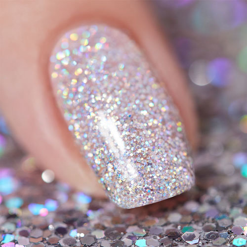 Halo There OPI Gel Nail Polish High Definition Glitter