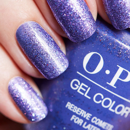Reserve Comets for Later OPI Gel Nail Polish High Definition Glitter
