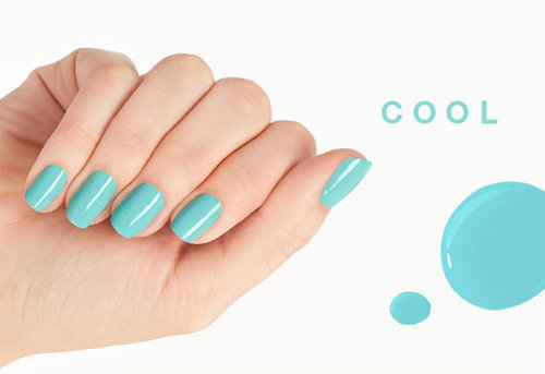 Nail polish shades for cool skin tones